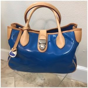 Dooney & Bourke Blue plastic purse